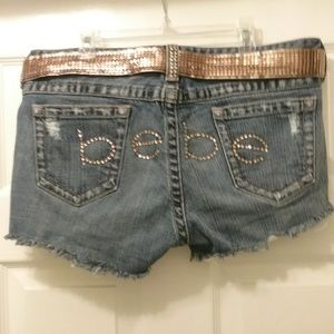 Bebe short  jeans